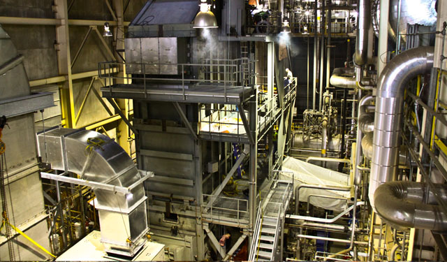 Cianbro Team Installs 15MW Boiler at Algonquin Power Facility